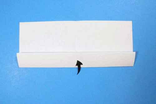 Как сделать из бумаги самолётик Шпион - Шаг 5.2