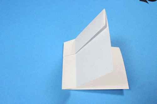 Как сделать из бумаги самолётик Шпион - Шаг 9.1
