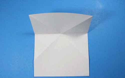 Как сделать из бумаги самолётик Летающий Ниндзя - Шаг 7.1