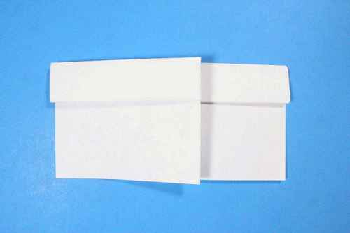 Как сделать из бумаги самолётик Шпион - Шаг 10