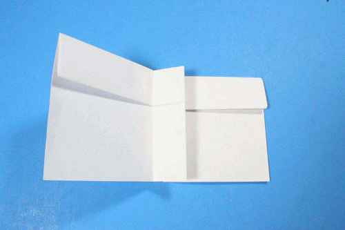 Как сделать из бумаги самолётик Шпион - Шаг 11.1