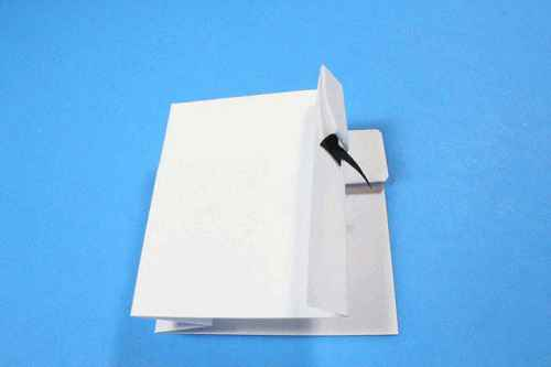 Как сделать из бумаги самолётик Шпион - Шаг 12