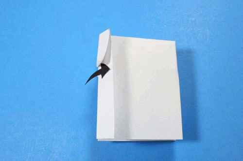 Как сделать из бумаги самолётик Шпион - Шаг 14