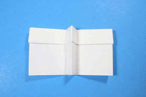 Как сделать из бумаги самолётик Шпион - Шаг 15