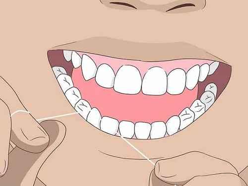 Как можно убрать запах изо рта? Используйте зубную нить.