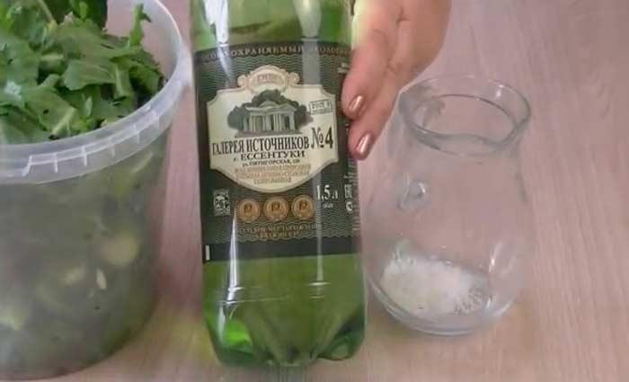 Как сделать малосольные огурцы в минералке 4
