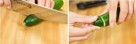 Как сделать японские малосольные огурцы с горчицей 4