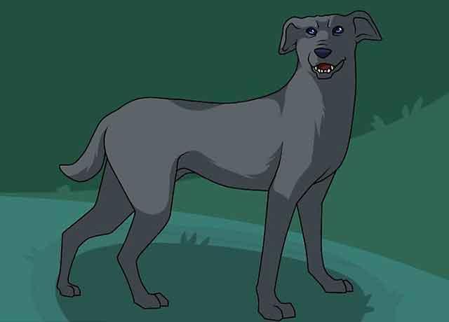Как нарисовать мультяшную взрослую собаку - Раскрасьте вашу собаку.