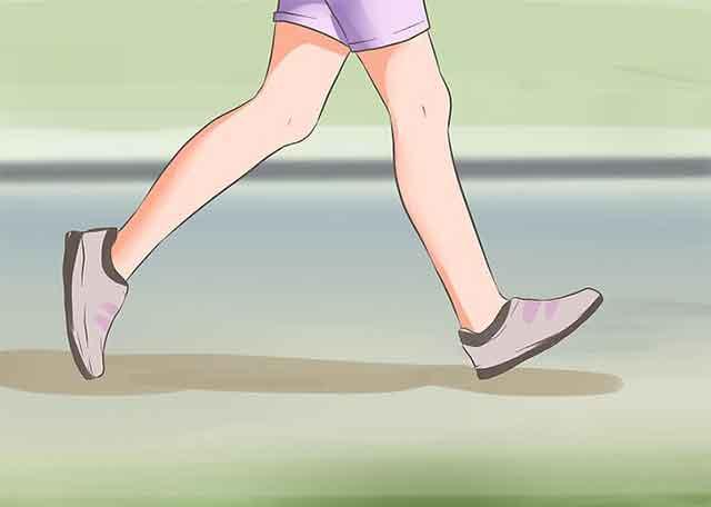 Упражнения чтобы похудеть на 7 кг за неделю - Всегда и везде ходите пешком.