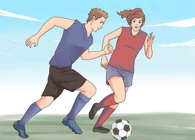 Упражнения чтобы похудеть на 7 кг за неделю - Начните заниматься командным спортом