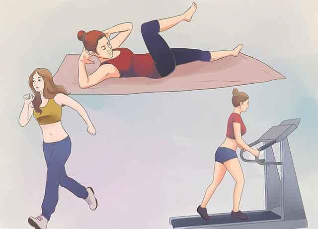 похудеть за неделю на 7 кг упражнения