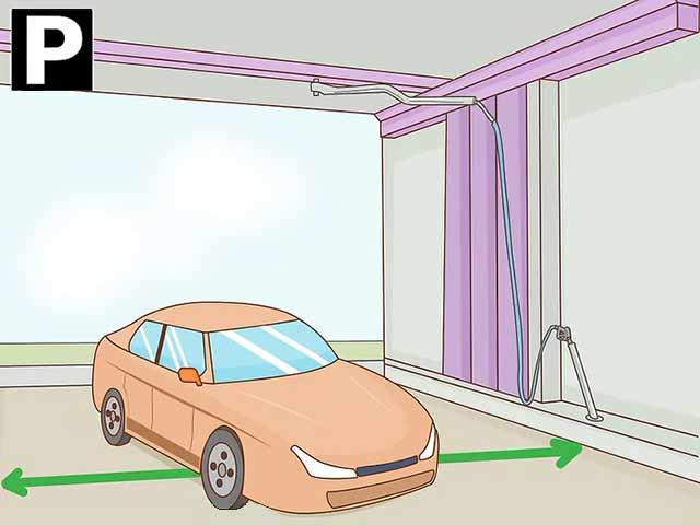 Как пользоваться автомойкой самообслуживания - Загоните свой автомобиль в свободный бокс.