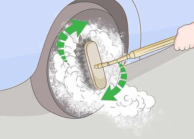 Как пользоваться автомойкой самообслуживания - Особое внимание обратите на колёса.
