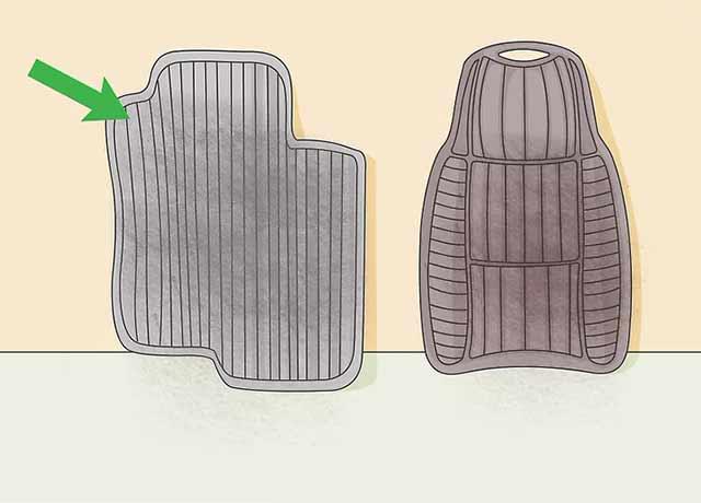 Как пользоваться автомойкой самообслуживания - Выньте коврики из салона вашего автомобиля.