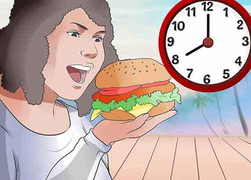 Как ускорить метаболизм и сбросить лишний вес - Избегайте поздних перекусов.