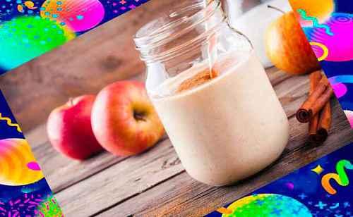 Яблочный пряный смузи