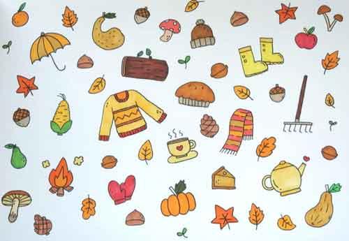 Осенний коллаж