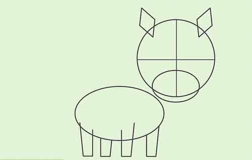 Как нарисовать мультяшную лошадку начинающему 4