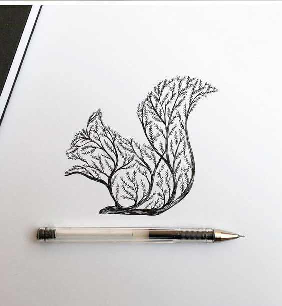 """Техника этого вида рисования является довольно простой и не требует профессиональных художественных навыков. Это направление учит ловить определенный момент, композицию, настроение.Чтобы """"набить руку"""" не лишним будет начать с простой срисовки работ более опытных художников."""