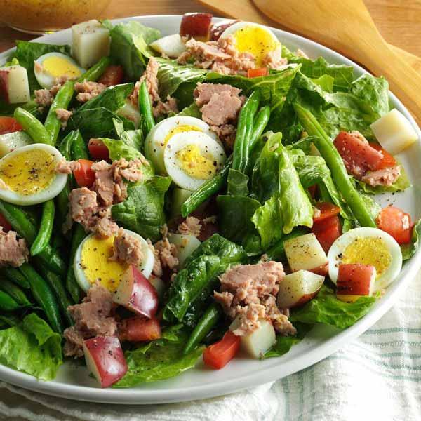 Простой и вкусный салат Нисуаз