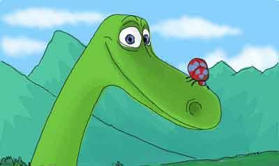 Апатозавр Арло из мультфильма «Хороший динозавр»
