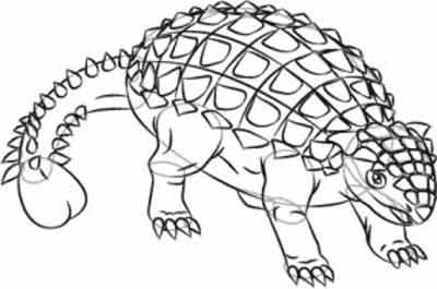 Анкилозавр 7