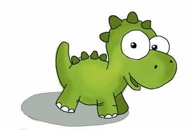 Маленький динозаврик