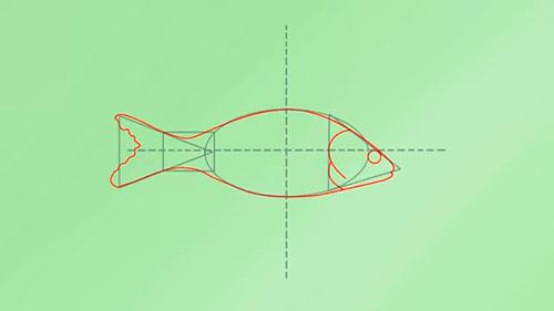 Как легко нарисовать реалистичную рыбку - Шаг 3