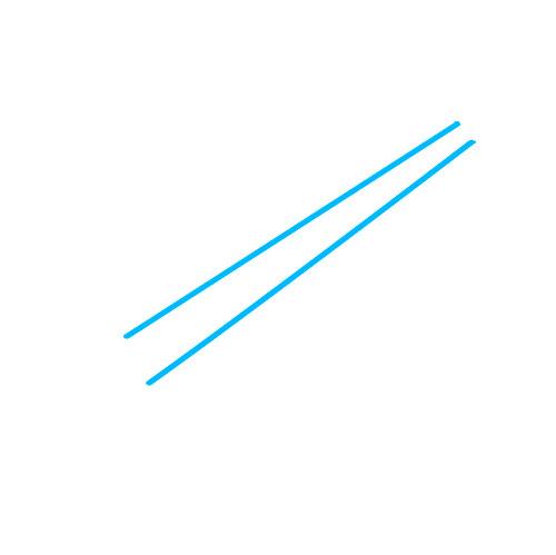 Как нарисовать гобой - Шаг 1