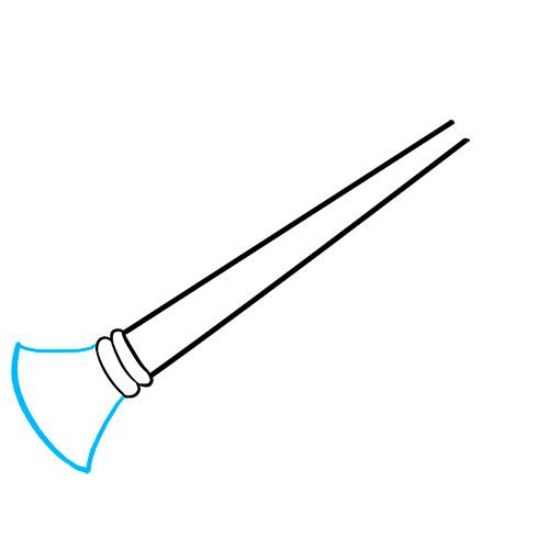 Как нарисовать гобой - Шаг 3