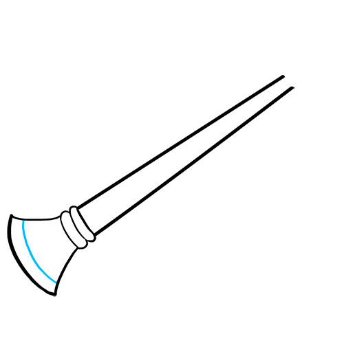 Как нарисовать гобой - Шаг 4