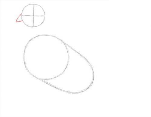 Как нарисовать голубя легко и просто - Шаг 5