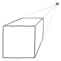 Как нарисовать квадрат объемный поэтапно