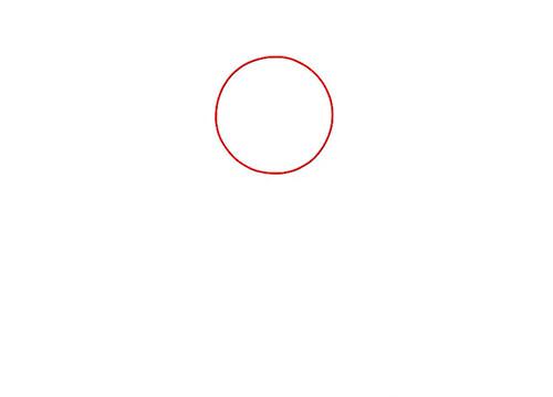 Рисуем ступни - вид спереди - Шаг 1