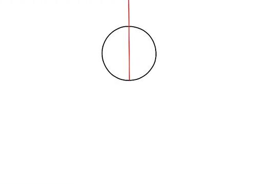 Рисуем ступни - вид спереди - Шаг 2