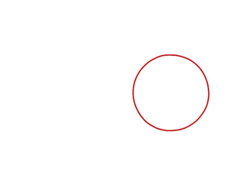 Рисуем ступню - вид сбоку - Шаг 1