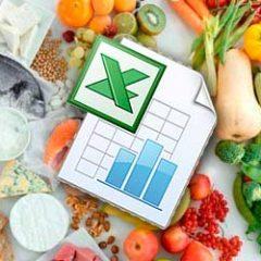 Калории в продуктах - таблица для похудения