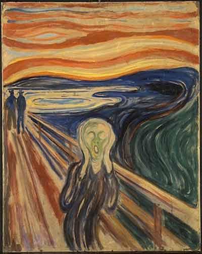 """""""Крик"""", 1910"""
