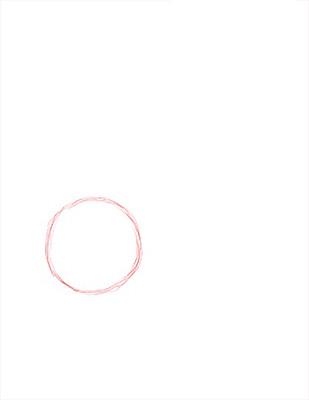 Как нарисовать лебедя карандашом - Шаг 1