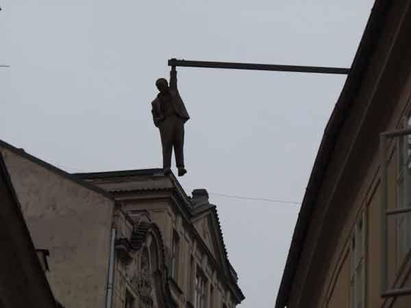Мужчина Болтается Без Дела / / Прага, Чехия
