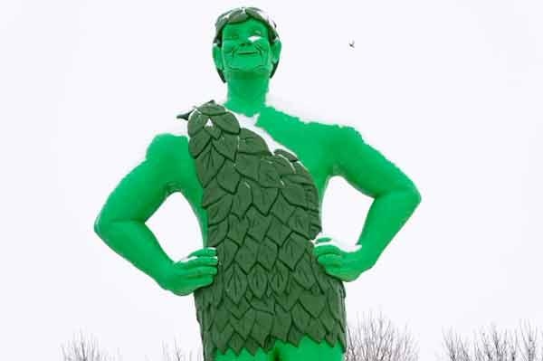 Веселый Зеленый Гигант / / Голубая Земля, Миннесота