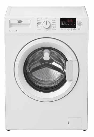 Beko WRE 76P2 XWW недорогая надежная стиральная машина