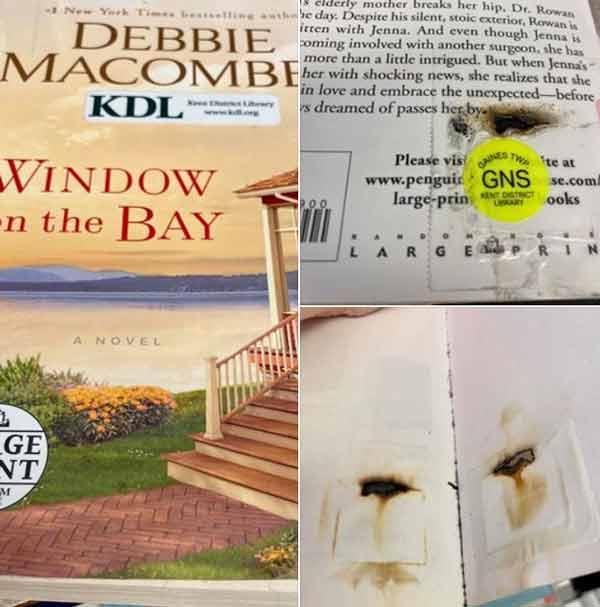 """Окна в заливе"" Дебби Макомбер"