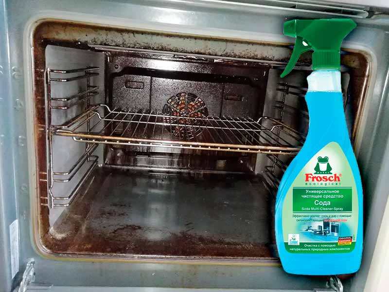 «Frosch» для чистки духовки от жира и нагара
