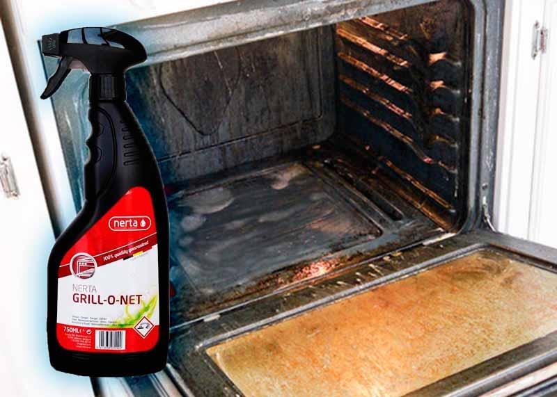 «Grill.net» для чистки духовки от жира и нагара