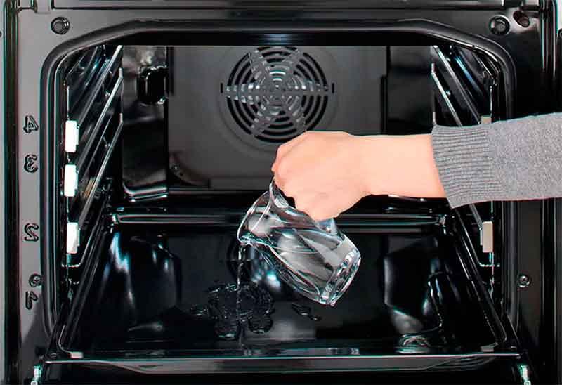 Пар для чистки духовки от жира и нагара