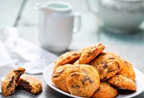 Печенье с финиками и шоколадом