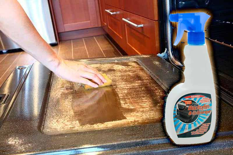 «Reinex» для чистки духовки от жира и нагара