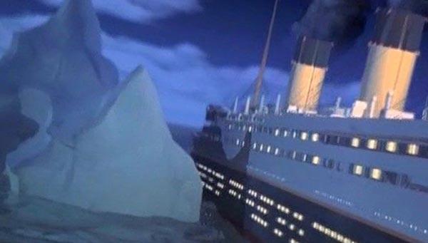 """""""Титаник"""" врезался в айсберг"""