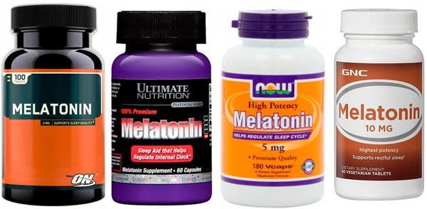 Принимайте добавки с мелатонином